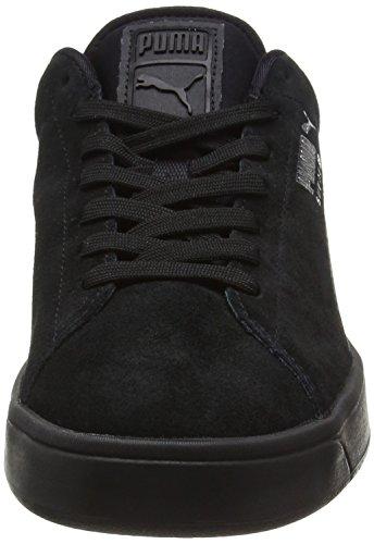 Puma Suede S S6 - Zapatillas Unisex adulto Negro - Black (Blk/Blk/P.Si)