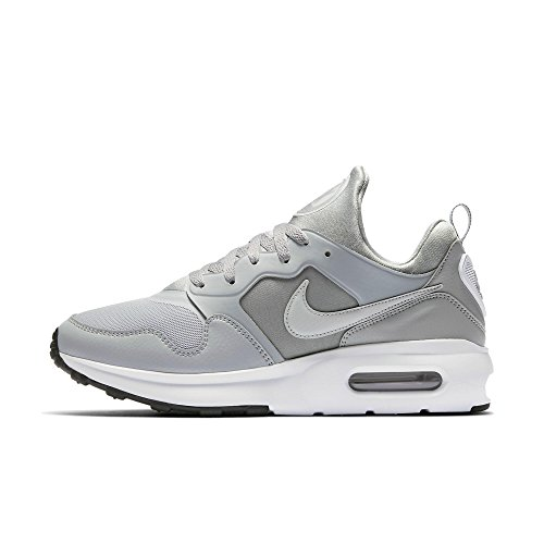NIKE Mens Air Max Prime Running Shoe Wolf Grey/Wolf Grey-White 11.5