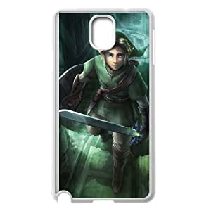 Samsung Galaxy Note 3 White Cell Phone Case The Legend of Zelda TGKG597687