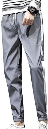 Romancly メンズ盛り合わせカラー快適なスリムテーパプラスサイズジョギングパンツ