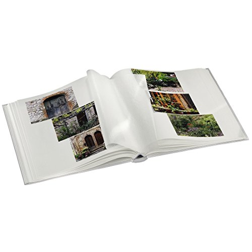 Hama Jumbo Fotoalbum Fine Art (30 x 30 cm, 100 Seiten, 50 Blatt, mit ...