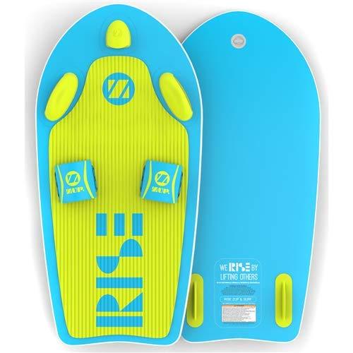 ZUP Rise and SURF オールインワン ウォータースポーツボード ウェイクボード ニーボード ウェイクサーフボード ウォータースキス