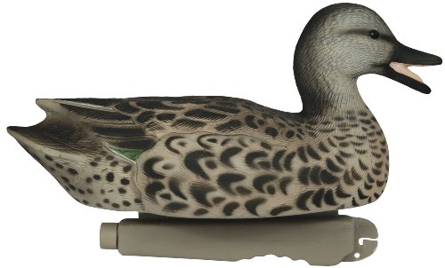 Winged Green Teal Duck (Tanglefree Waterfowl Pro-Series Green Winged Teal Duck Decoys, 12-Inch)
