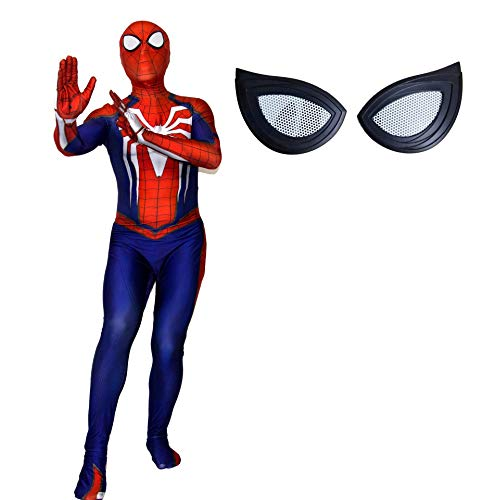Insomniac PS4 Spiderman Homecoming Zentai Halloween Bodysuit Cosplay Costumes