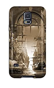 Ultra Slim Fit Hard ZippyDoritEduard Case Cover Specially Made For Galaxy S5- Surreal Art