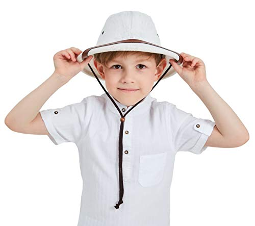 kainozoic Pith Helmet Kids Costume Halloween Party Hat