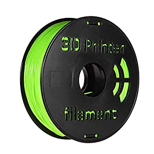 Entweg flex filament,1kg/ spool 1.75mm flexible tpu filament printing material supplies white, black, transparent for 3d printer drawing pens apple green