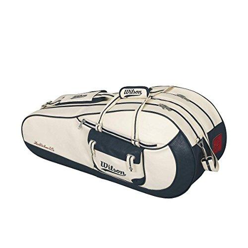 Wilson Damen Sportsack Heritage TOTE WHNY, Beige/Blau/Cream/Navy, 79 x 34 x 24 cm, 64 Liter, 0887768378189