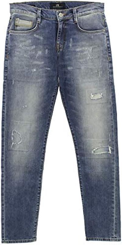 LTB męskie dżinsy spodnie Justin Stretchdenim Blue [23239] (Justin), kolor: niebieski , rozmiar: 29W / 32L: Odzież