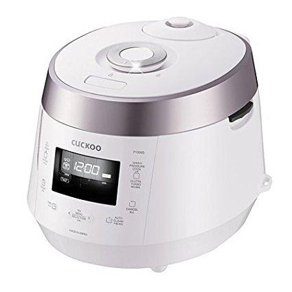 Cuckoo Electric Heating Pressure Rice Cooker CRP-P1009SB (Black)