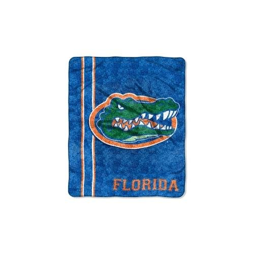 """The Northwest Company Officially Licensed NCAA Florida Gators Jersey Sherpa on Sherpa Throw Blanket, 50"""" x 60"""" from The Northwest Company"""