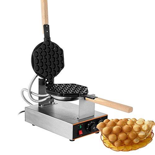 Happybuy Puffle Waffle Maker 1400W Professional Rotated Nonstick 110V Hong Kong Egg Bubble Waffle Maker by Happybuy (Image #2)