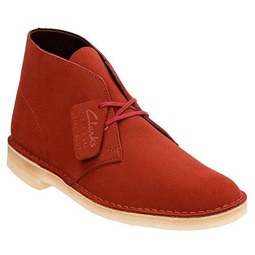 Clarks Originals Heren Desert Boot Terracotta Suede