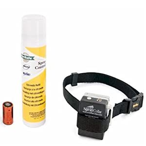 PetSafe Anti-Bark Spray Collar, Citronella from Training and Bark