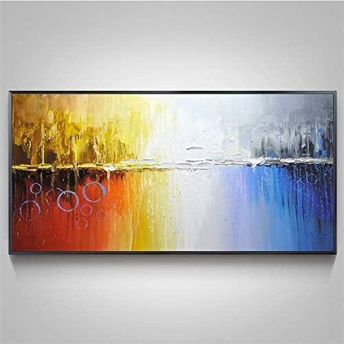 Afassw 100 Handgeschilderd Kleur Boom Mes Modern Olieschilderij Op Canvas Muur Decoratie Muur Muur Art