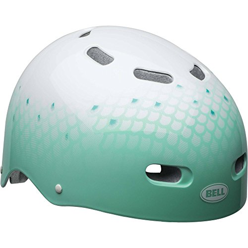 Bell Sports Bike Candy Multisport Youth Helmet, White Mint Glisten