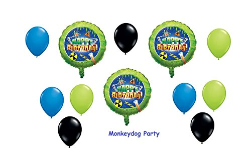 Mad Scientist Science Party Balloons Birthday Kit -