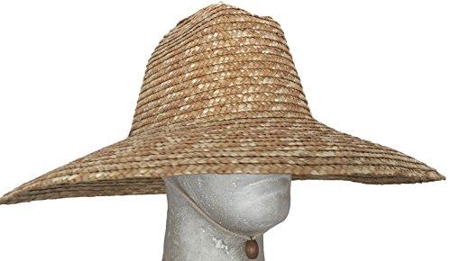 Super Wide Brim Lifeguard Hat Straw Beach Sun Summer Surf Safari Gardening  UPF at Amazon Men s Clothing store  3f0aa32acd3