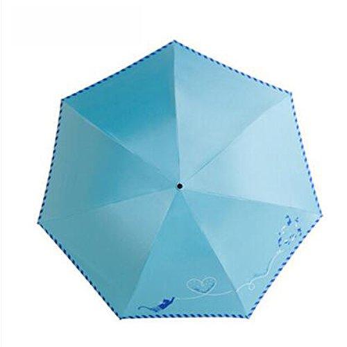 Amazon.com : Reinhar Beach Folding Sun Umbrella UV Protection Women Paraplu Paraguas Hombre Waterproof Sun Big Umbrella Rain Windproof Blue : Sports & ...