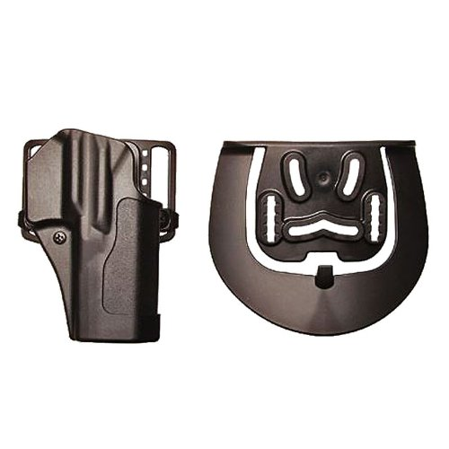Blackhawk Sportster Standard Holster with Belt Loop and Right Paddle with Matte Finish (Glock 19/23/32/36)