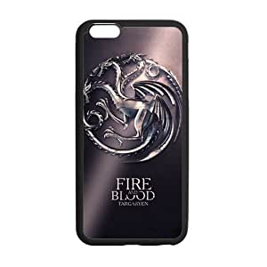 """Onshop Custom Game of Thrones Pattern Phone Case Laser Technology for iPhone 6 Plus 5.5"""" by Maris's Diary"""