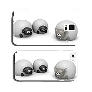 Wolf In Sheeps Clothing Isolated cell phone cover case Samsung S6