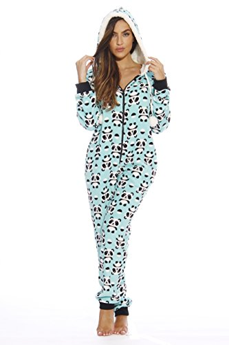 - 6416-XL Just Love Adult Onesie / Pajamas, Panda Jam, X-Large