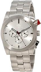 KR3W Men's K1342SLVR Redrum Silver Automatic Watch