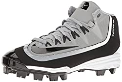 Nike Mens Huarache 2kfilth Pro Baseball Cleat Wolf Greyanthracitewhiteblack Size 8.5 M Us