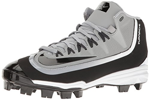 Nike Mens Huarache 2KFilth Pro Baseball Cleat Wolf Grey/Anthracite/White/Black Size 9 M US