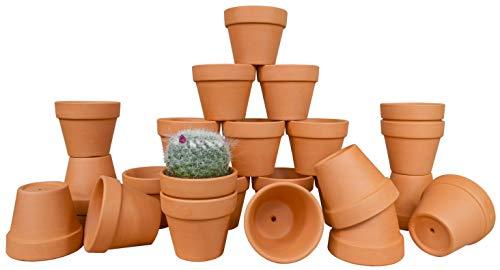 (My Urban Crafts 24 Pcs Small Terra Cotta Pots 2.5
