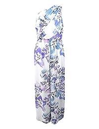 Lauren Ralph Lauren Womens One Shoulder Floral Maxi Dress
