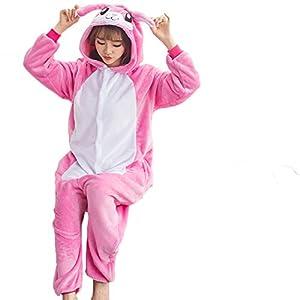 Beiji Unisex Adult Onesie Sleeping Pajamas Christmas Cosplay Costumes
