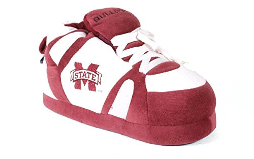 Mississippi State Bulldogs Rubber - MST01-2 - Mississippi State Bulldogs - Medium - Happy Feet Men's and Womens NCAA Slippers