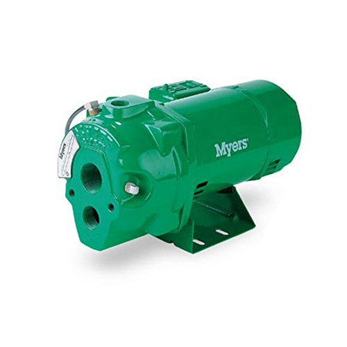 Fe Myers HR50D Convertible Deep Well Jet Pumps, 1/2 HP, Cast Iron by FE Myers