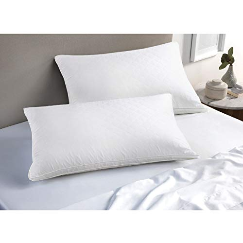 VECELO Queen Size Luxury Quilted Bed Pillows for Sleeping - 2 Pack