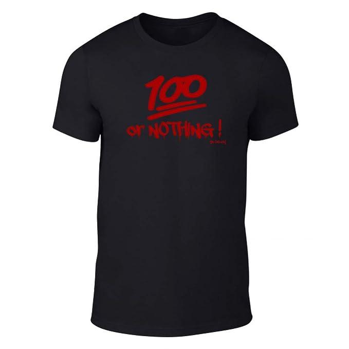 GO HEAVY Camiseta para Hombres100 or Nothing: Amazon.es: Ropa y accesorios