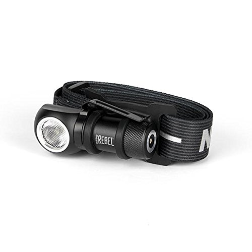 Nebo Rebel 240 lumen LED headlamp/work light 6691 USB rechargeable with magnetic base, with EdisonBright USB powered reading light bundle by EdisonBright (Image #4)