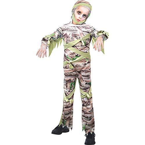 Suit Yourself Slimy Mummy Halloween Costume for Boys, Medium