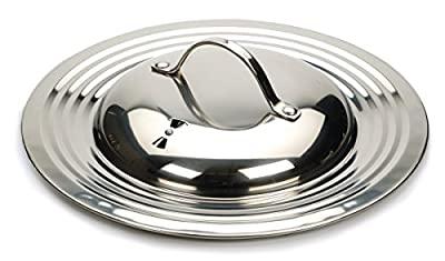 RSVP Endurance Stainless Steel Universal Lid with Adjustable Steam Vent