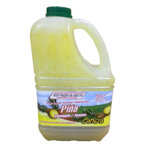 Pineapple Fruit Pulp Puree Frozen - 64 oz (Pack of 6)
