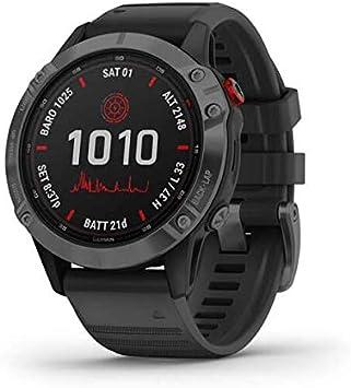 Garmin Smartwatch Fenix 6 Pro Solar Schwarz 200 000 Sport Freizeit
