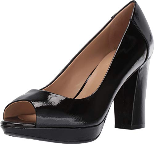 Naturalizer Women's Amie Black Patent Leather 6 M US