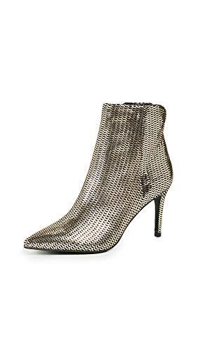 STEVEN by Steve Madden Women's Leila Ankle Boot, Gold/Multi, 7.5 M US
