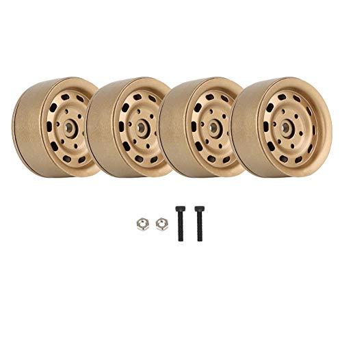 (Drfeify 4pcs RC Car Wheel Hubs, 1.9
