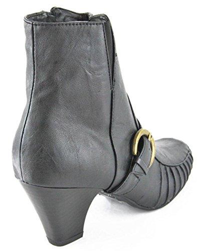 Andrea Conti Botas Botines High Heel Negro 2086