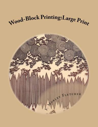 (Wood-Block Printing: Large Print)