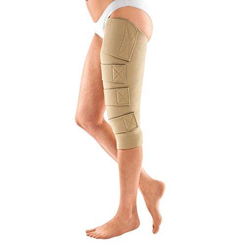 Circaid Juxta Fit Eseentials Short Upper Legging with Knee, 45cm (Medium (Left)) by CircAid