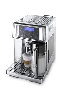 DeLonghi ESAM 6750 Kaffee-Vollautomat PrimaDonna Avant Chrome Line (1.8...