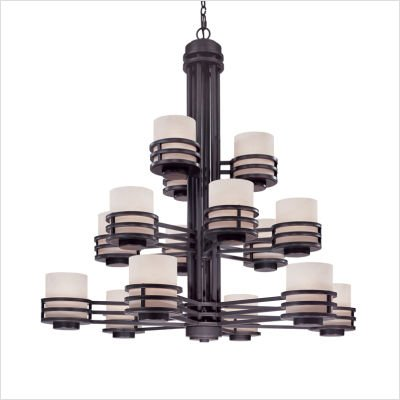 Dolan Designs 2663-78 15 Light 3 Tier Chandelier, Multi